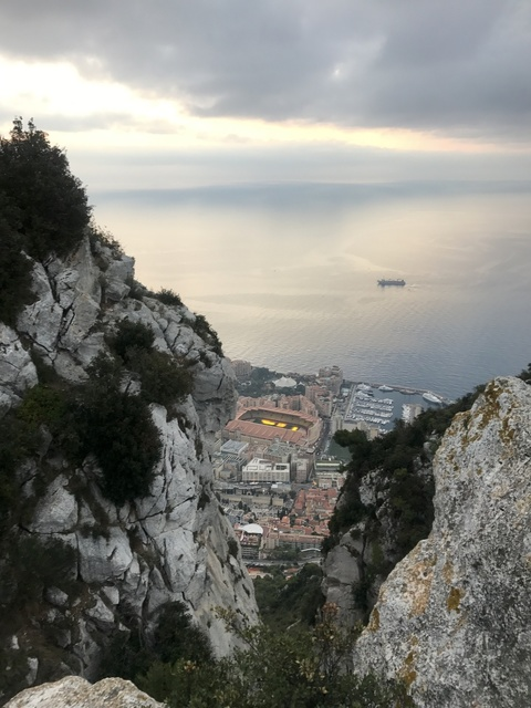 Monaco from our sleep place